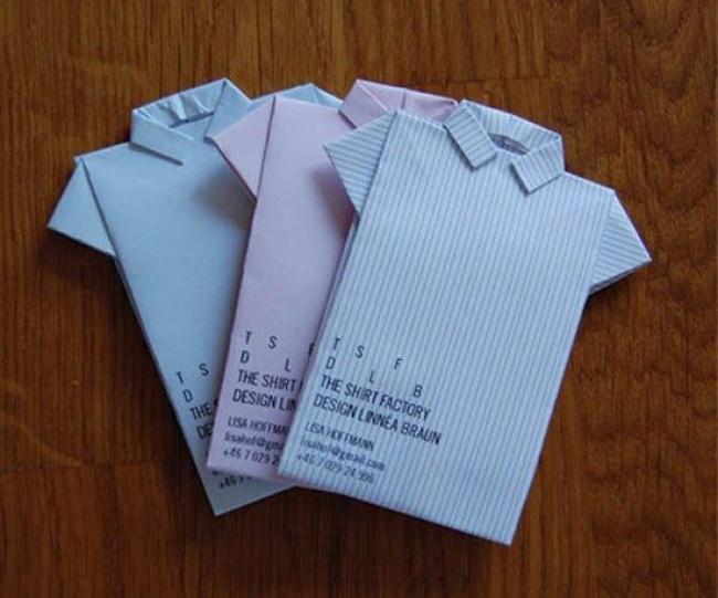 © shirtfactory      Мягкие визитки графического дизайнера