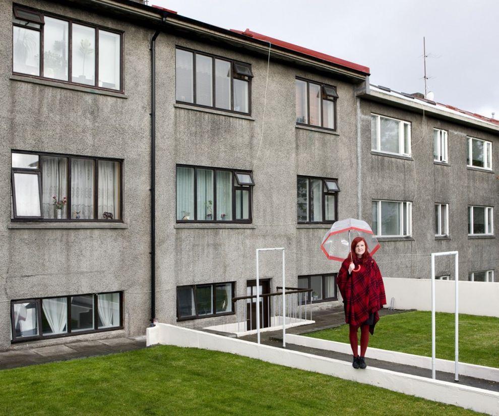 2. Берглинд Гуннарсдоттир, 33 года, Рейкьявик, Исландия   Я прибыл в Рейкьявик в субботу, около