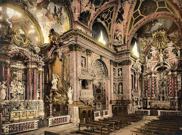Интерьер церкви Скальци.