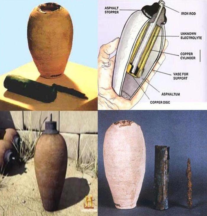 По одной из версий, подобная батарейка могла использоваться в процессе гальванизации золота, также о
