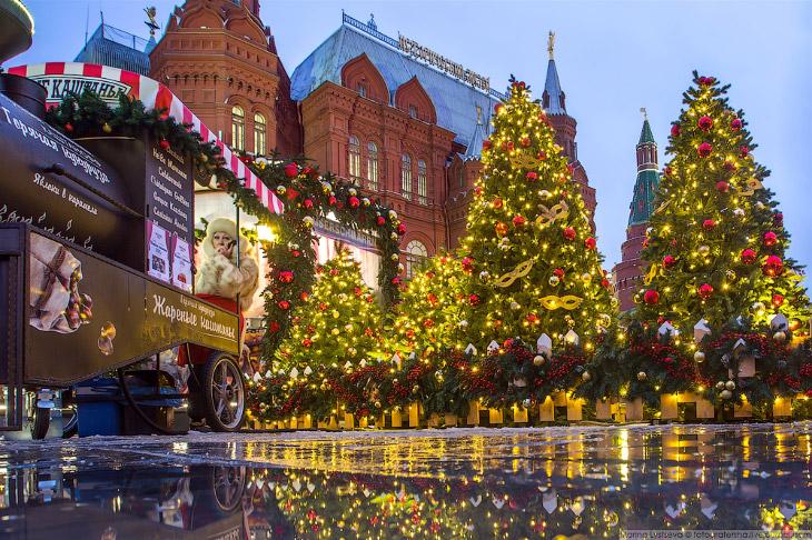 Новогодняя Москва 2017 (49 фото)