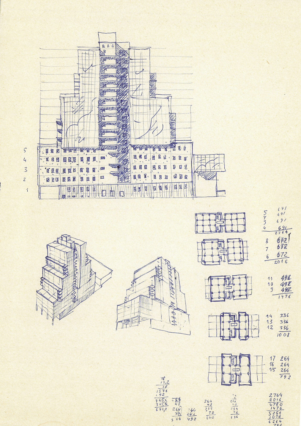 36. Этот вариант похож на московский торгово-деловой комплекс «Смоленский пассаж», открытый в 1998 г