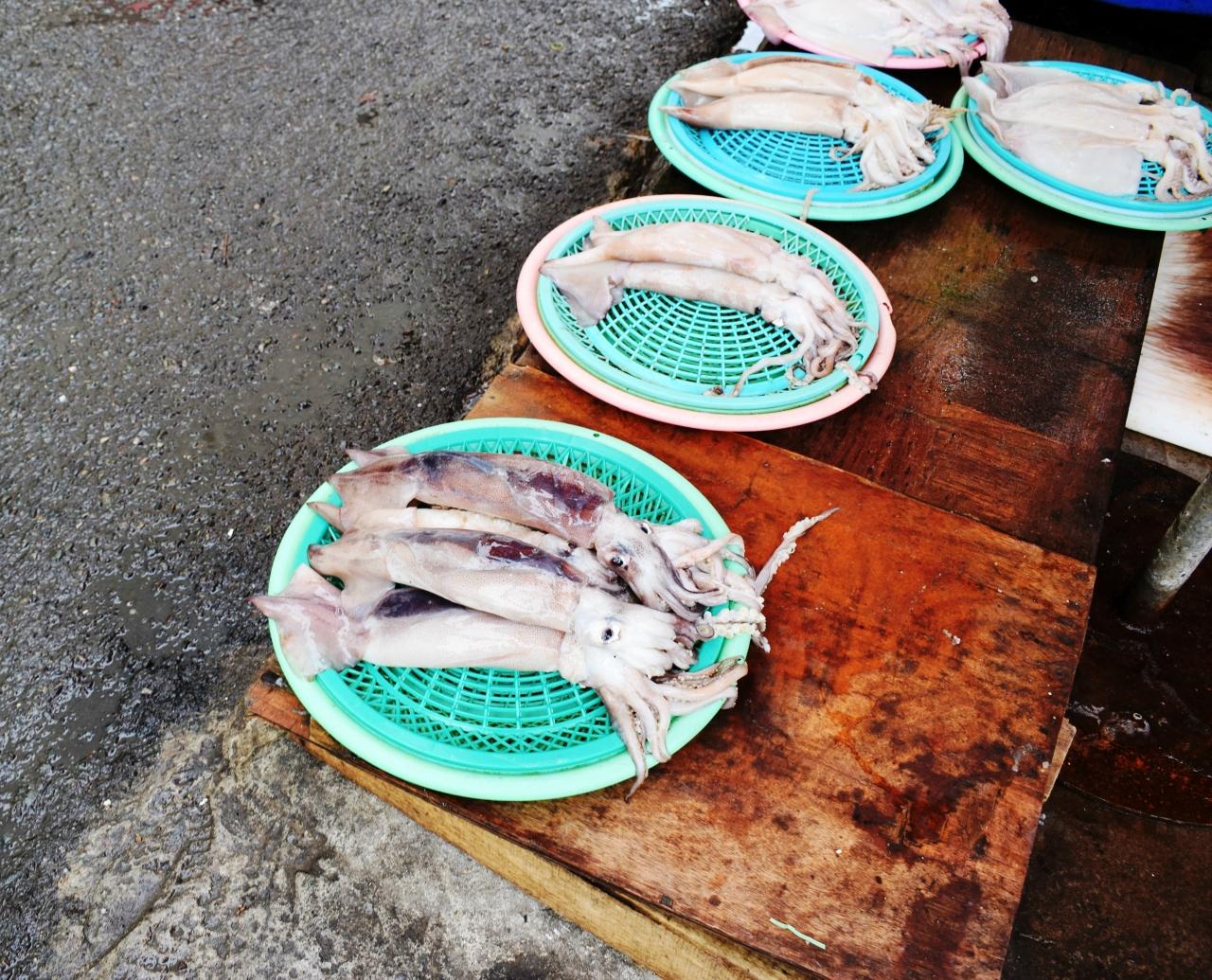 Пусан, рыба