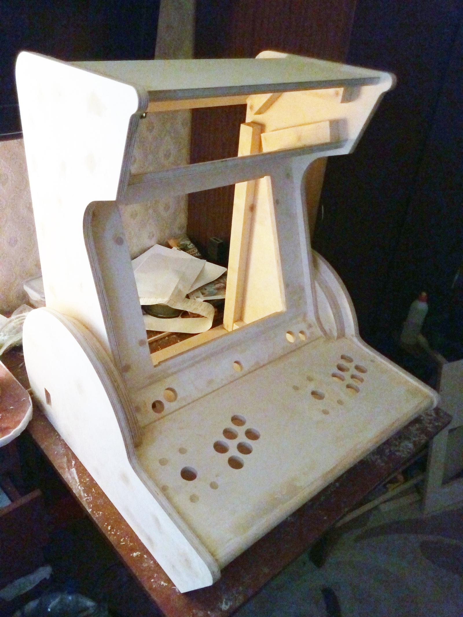 Настольный аркадный автомат своими руками
