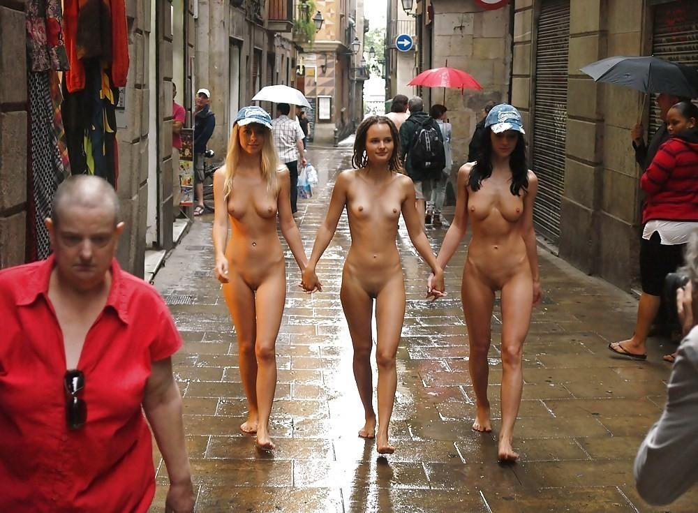 Public Nudity Contest