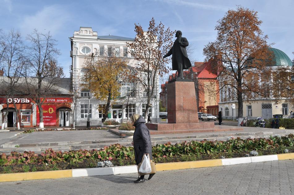 Осенняя прогулка в Мичуринске