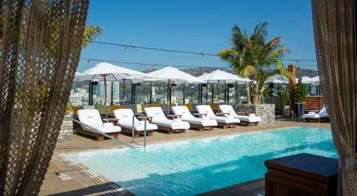 The Highlight Room  Located on the rooftop of the luxury Dream Hollywood Hotel, the TAO Group's