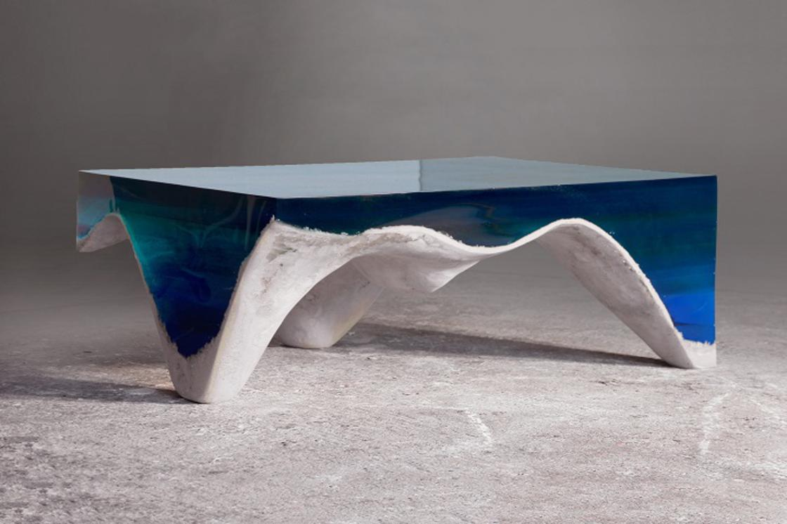 DelMare – These poetic furniture pay tribute to the ocean