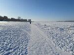 Зима на Волге.