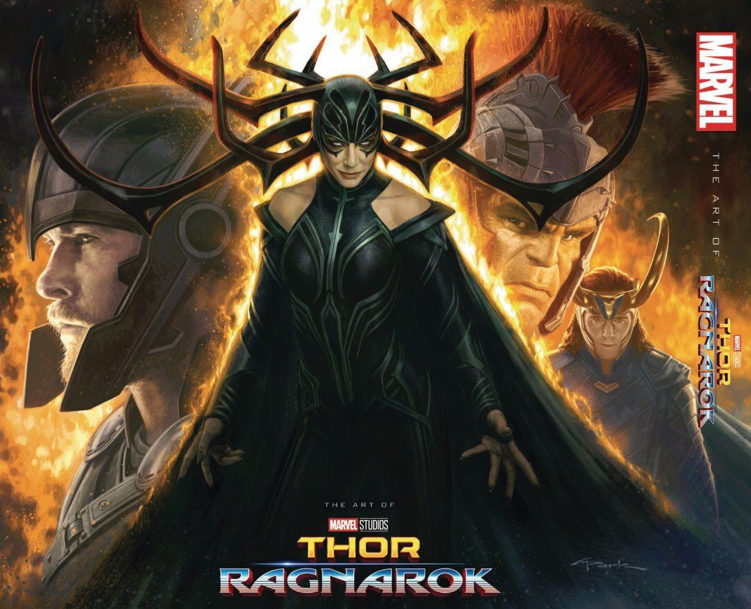 Thor: Ragnarok Concept Art and Illustrations by Andy Park