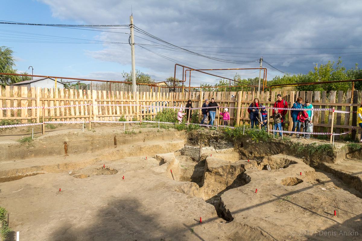 Археологическая площадка на Увеке фото 7