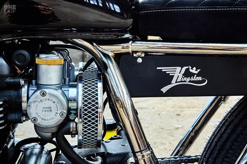 Kingstom Custom: брэт-трекер Triumph Thruxton