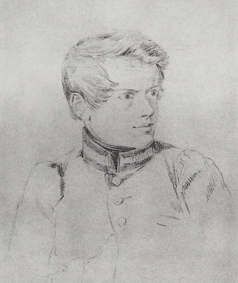 Автопортрет. 1813-1816 Государственная Третьяковская галерея, Москва