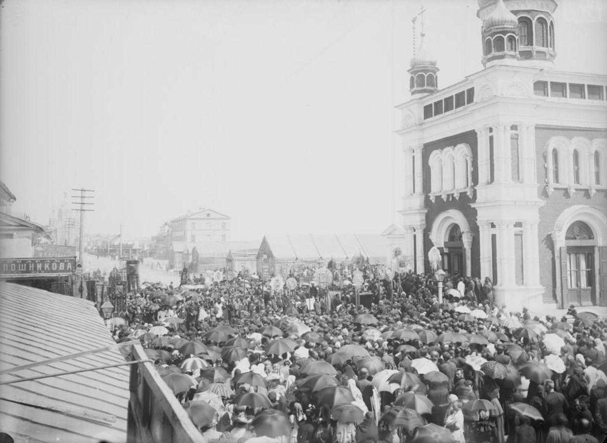 1890-е. Открытие Нижегородской ярмарки