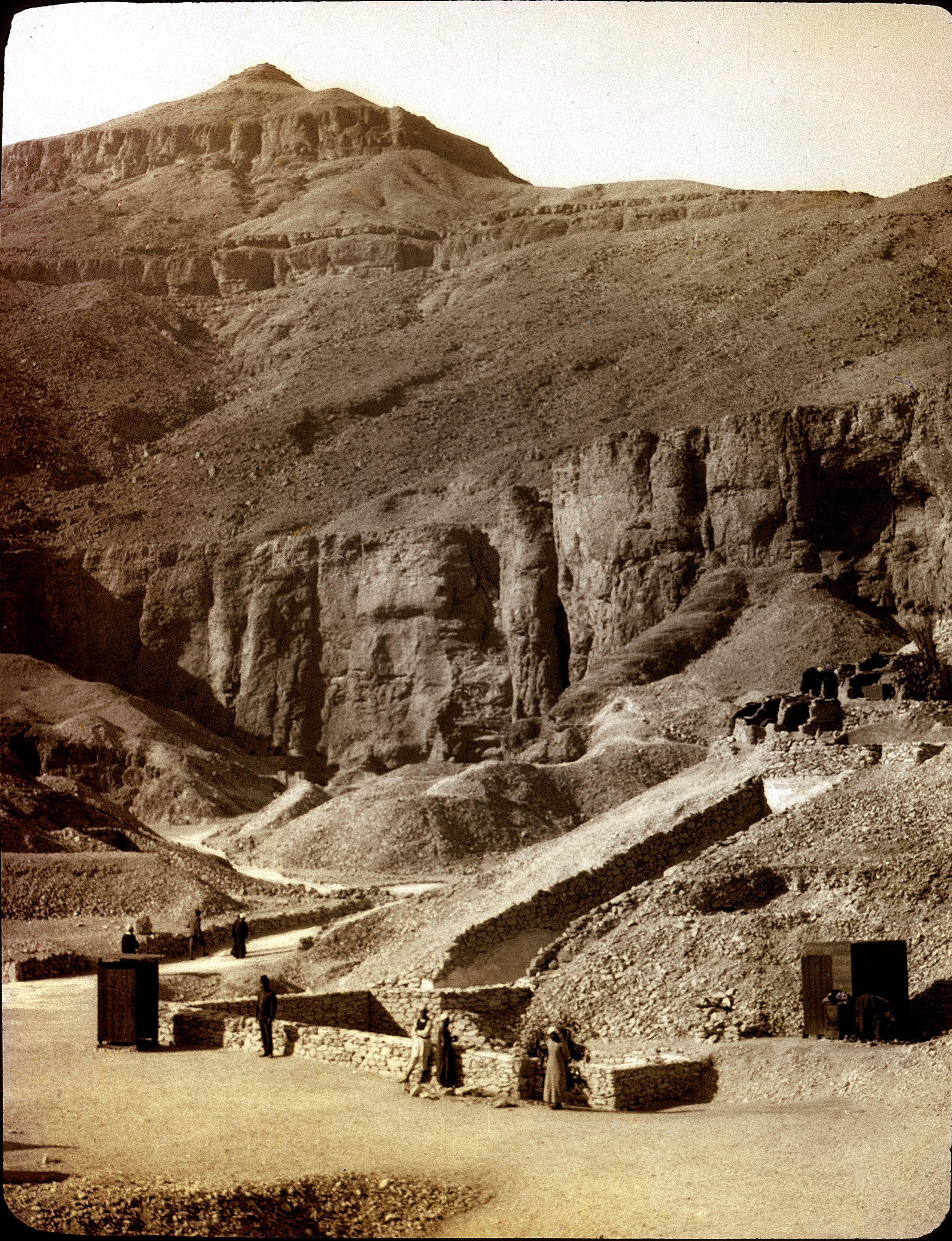 Вход в гробницу Тутанхамона в Долине царей