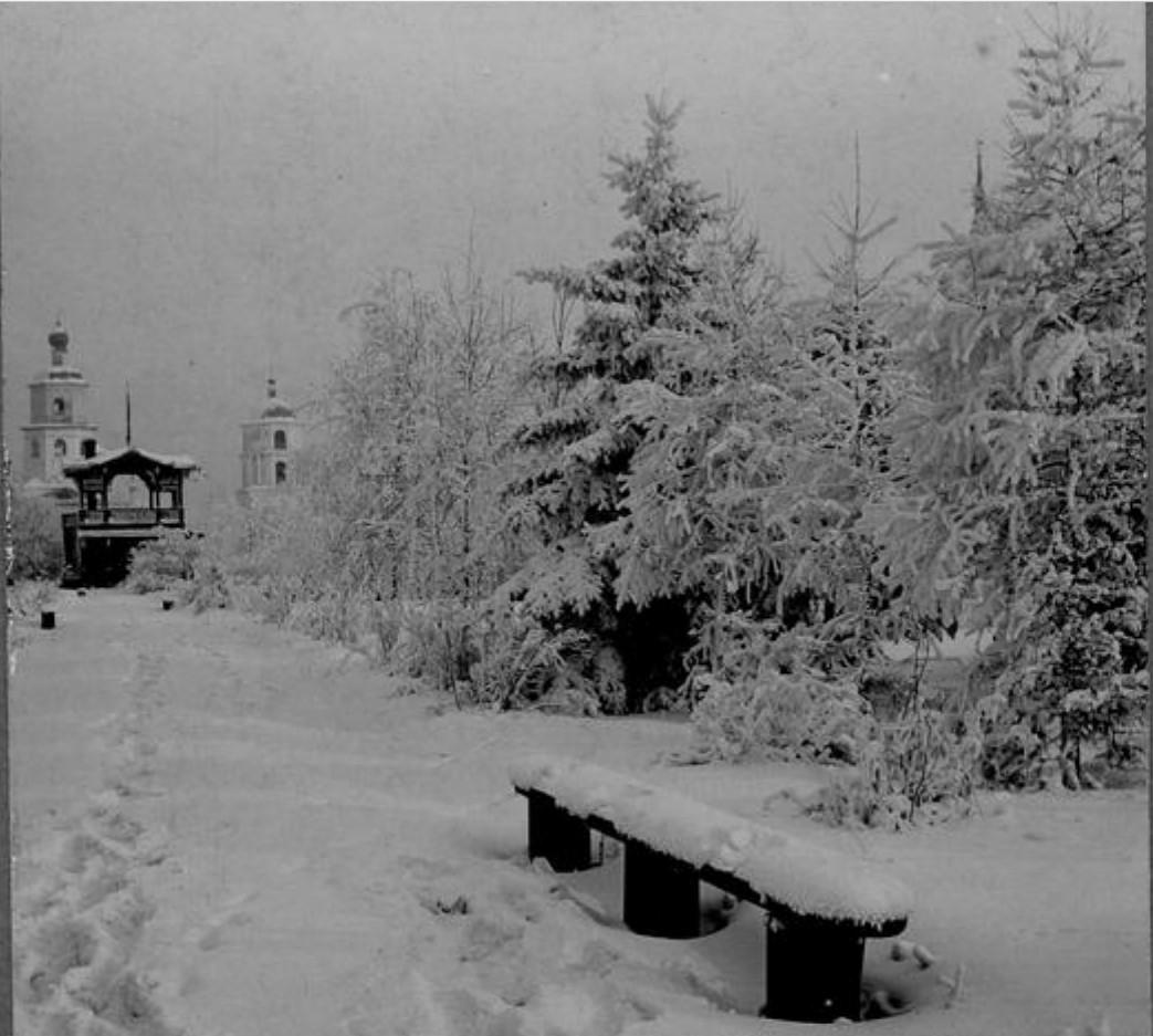 Сукачевский сквер. 1910