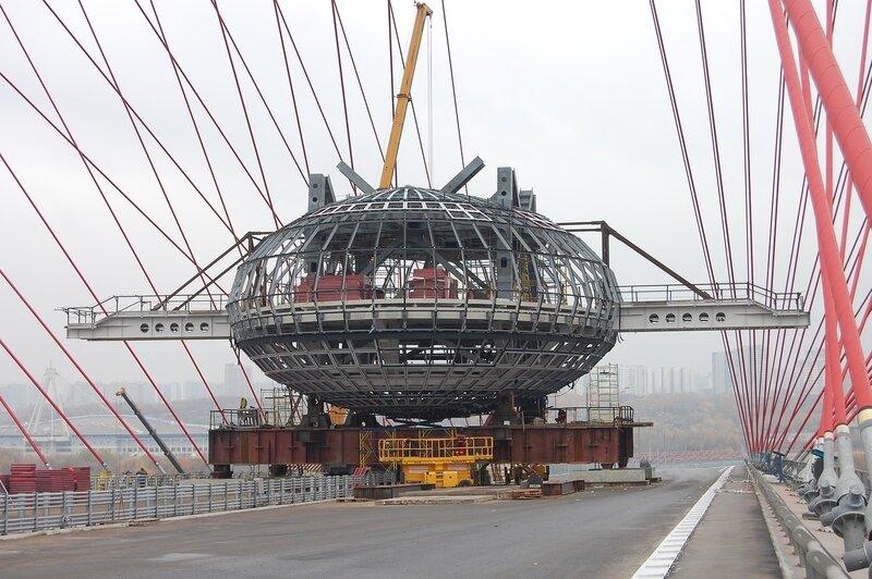 Попасть на живописный мост