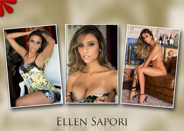 Бразильская модель Ellen Sapori (Эллен Сапори)