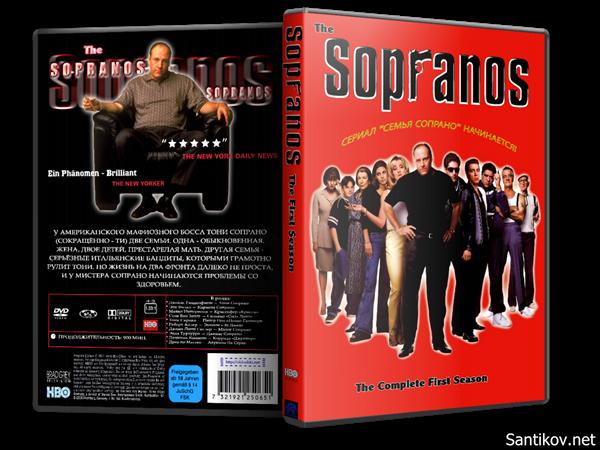 Клан Сопрано (1-6 сезоны: 1-86 серии из 86) / The Sopranos / 1999-2007 / ПМ (FOX Crime) / DVDRip-AVC