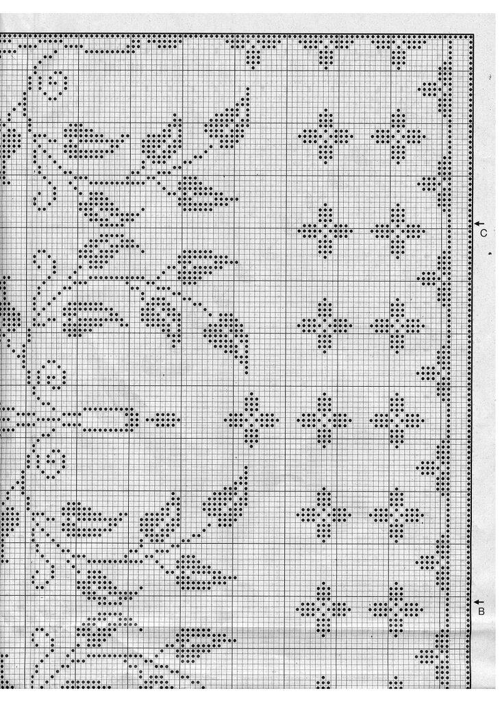 филейное вязание крючком схемы казино