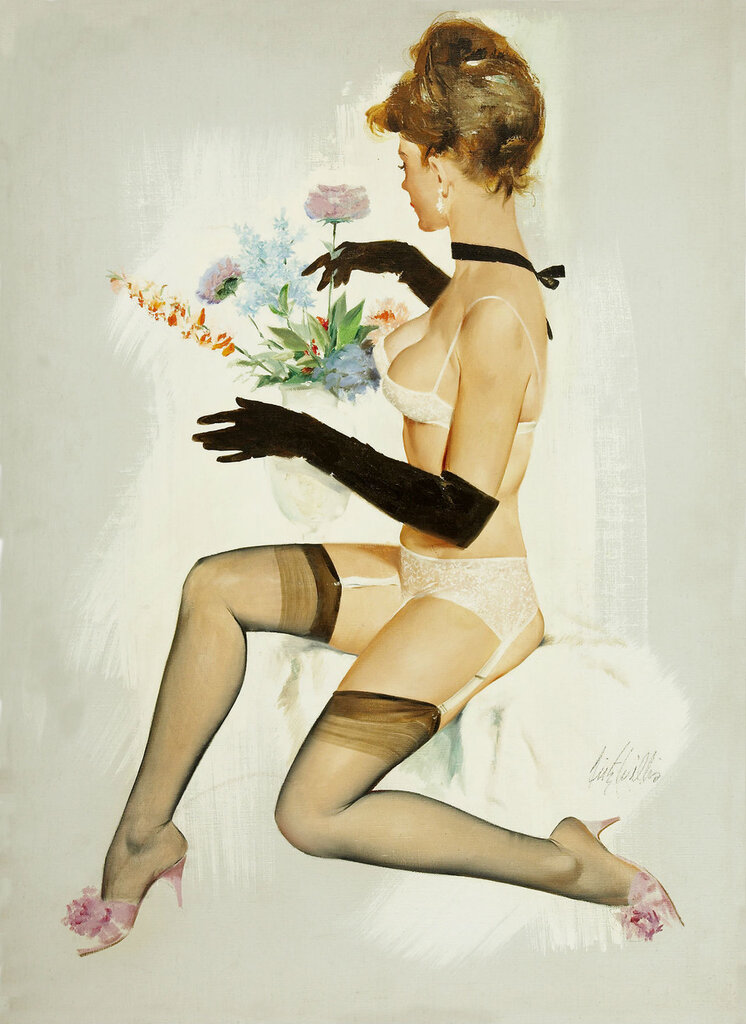 Рисованные сексуальные ножки