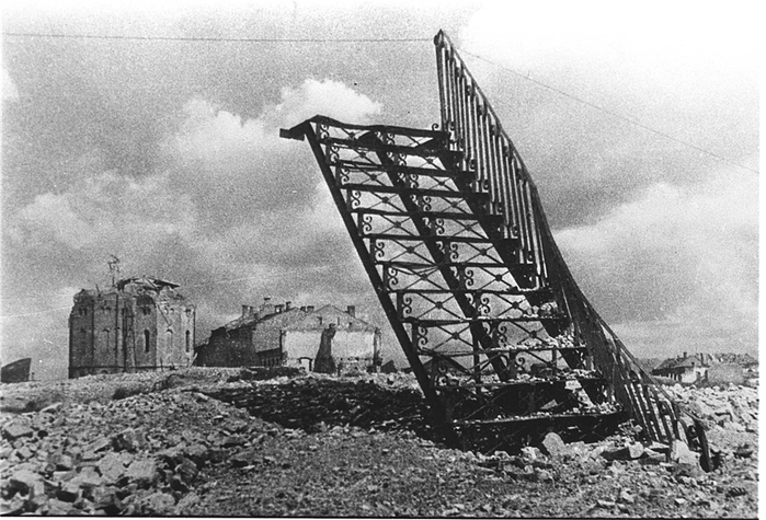 Лестница в никуда, послевоенный Витебск