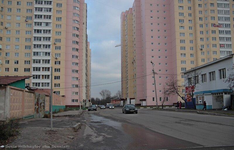 Фрязино. Улица Горького.