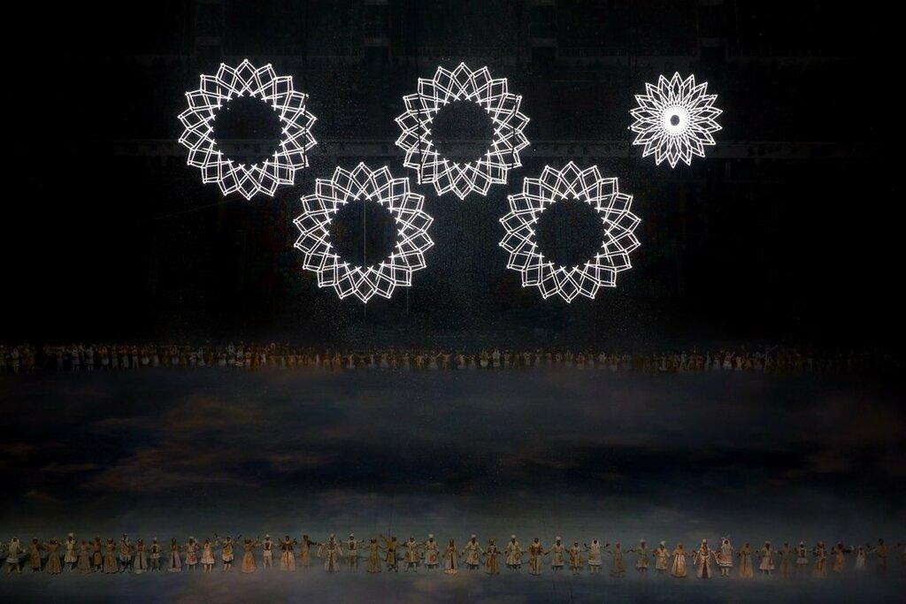 Первый фейл на Олимпиаде в Сочи