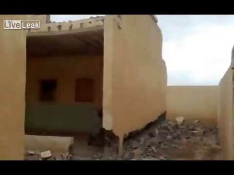 Снос стены по Иракски