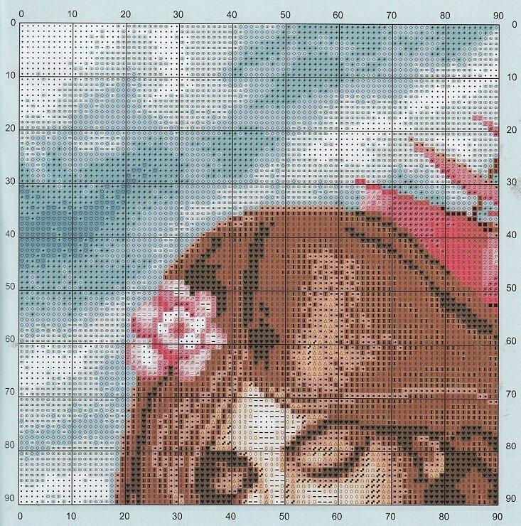 Алые паруса схемы вышивки крестиком 38