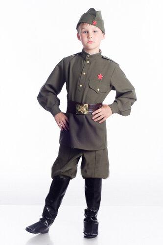 Детский карнавальный костюм форма военного