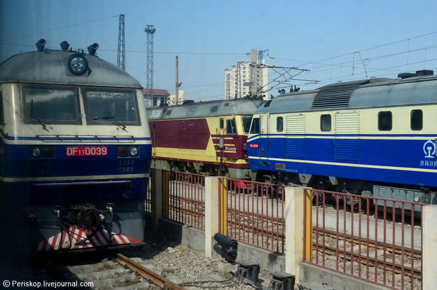 Рельсовый мир Поднебесной: на поезде К56 от Сучжоу до Цзинани