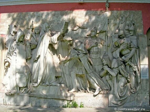 Горельефы Храма Христа Спасителя