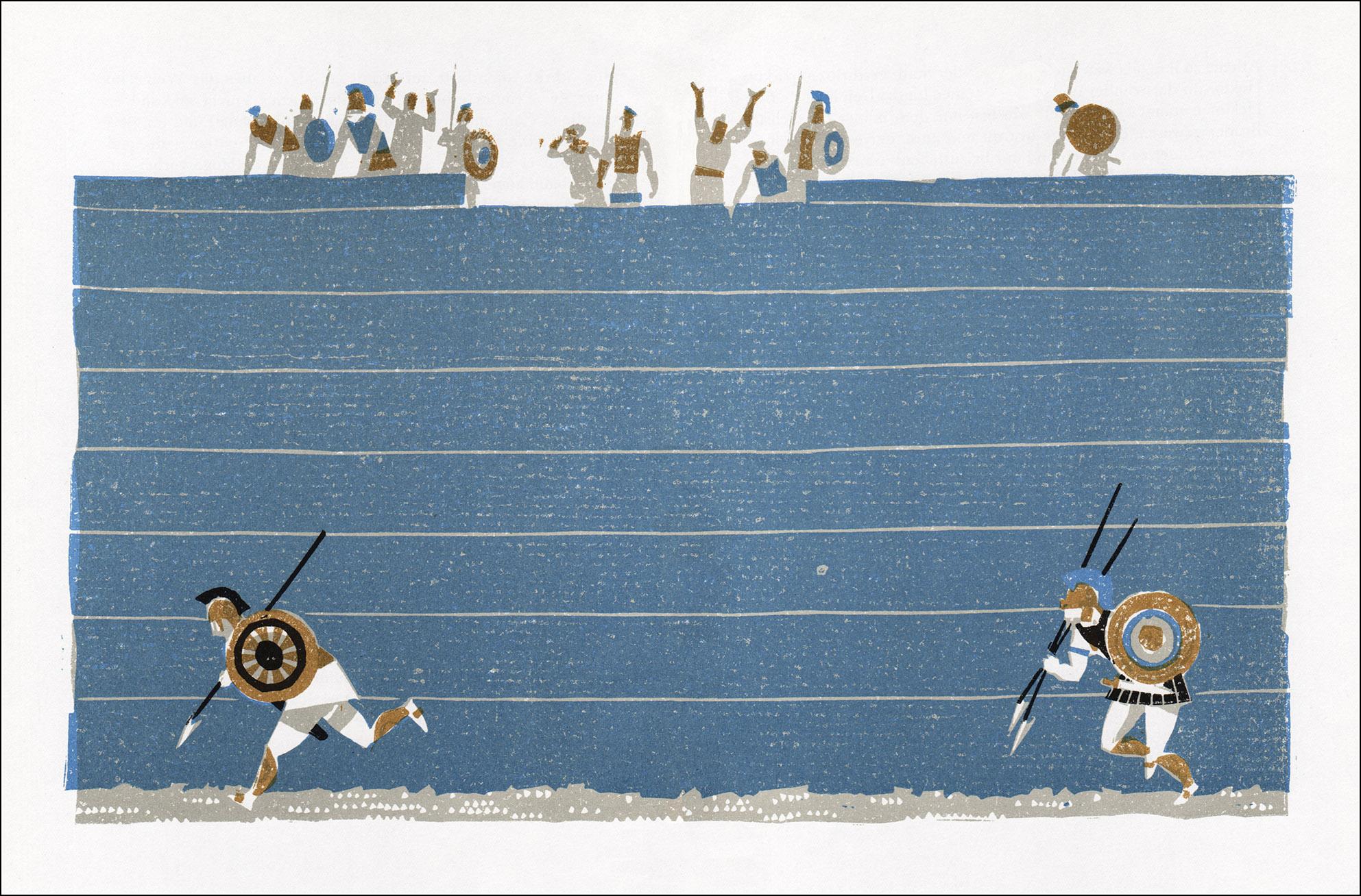 Eberhard und Elfriede Binder, Die Sage vom Untergang Trojas und von den Irrfahrten des Odysseus