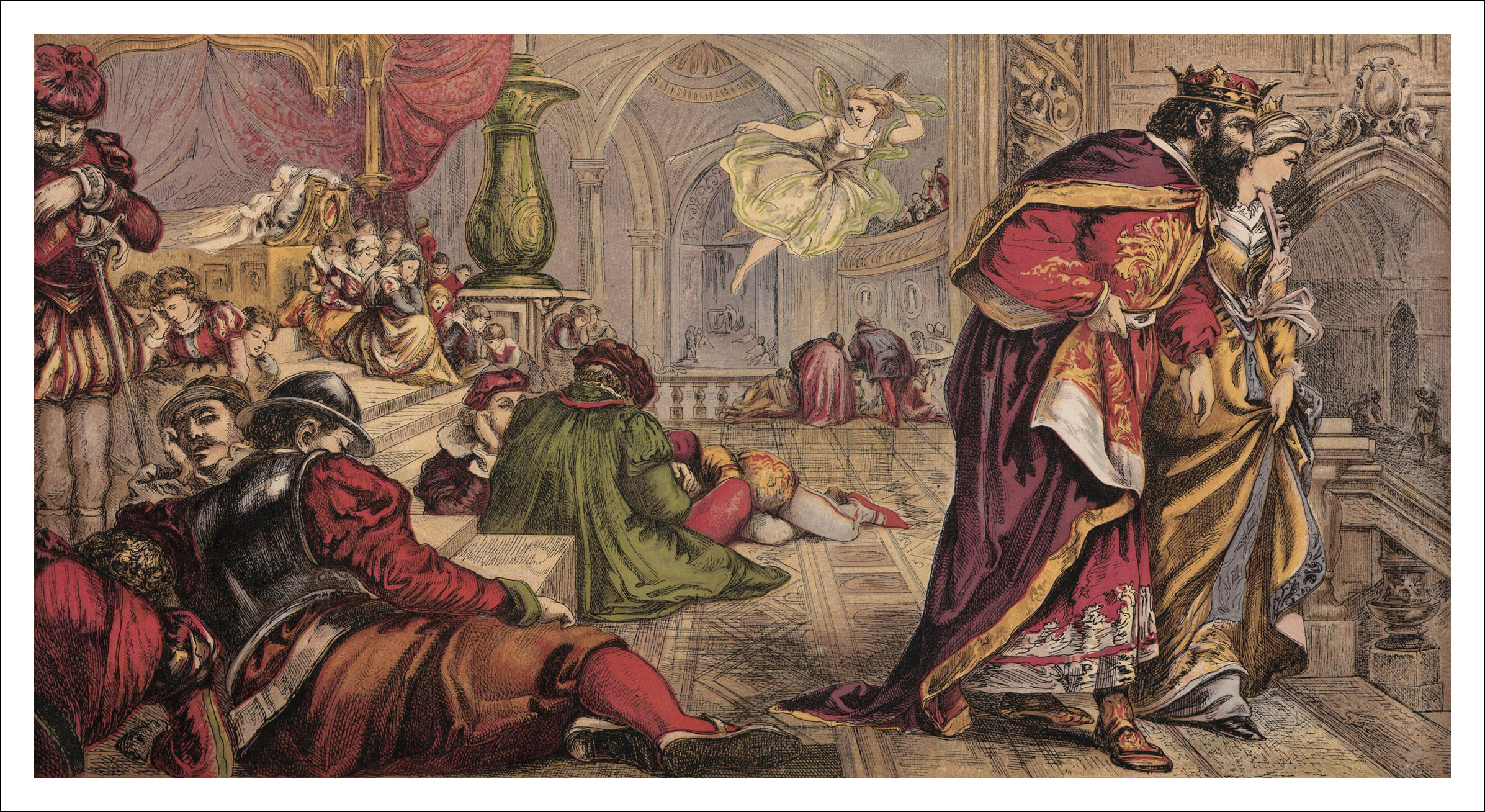 La Belle au bois dormant  Book Graphics ~ La Belle Au Bois Dormant Anglais