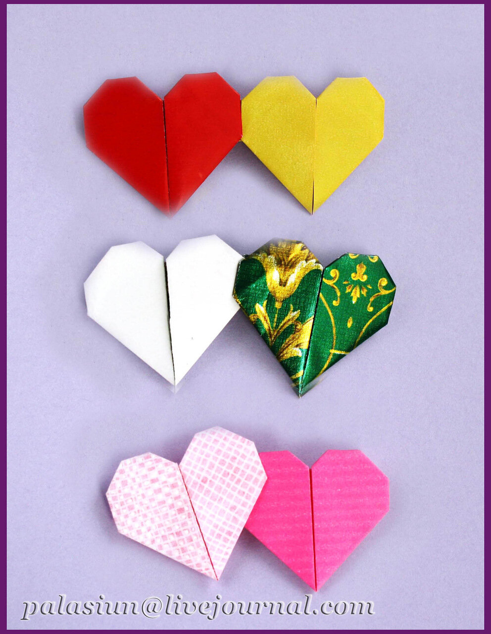 Сердечко открытка оригами из бумаги, открытки сирень днем