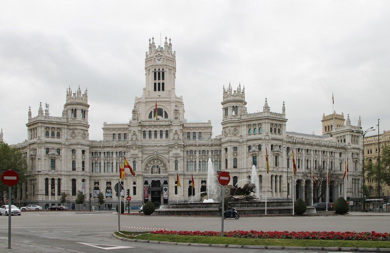 Площадь Сибелес (Plaza de Cibeles)