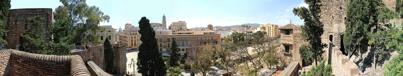 Малага. Крепость Алькасаба (Alcazaba de Málaga)