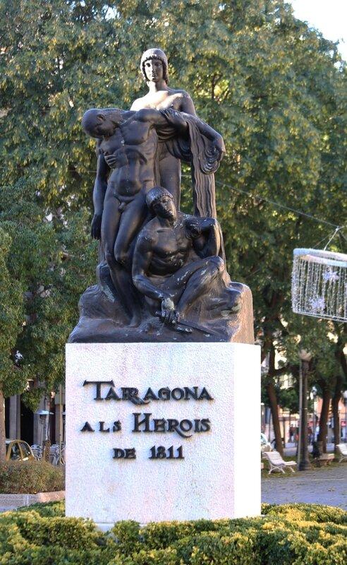 Таррагона. Памятник героям 1811 года.