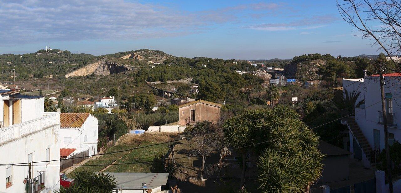 Таррагона, панорама, panorama