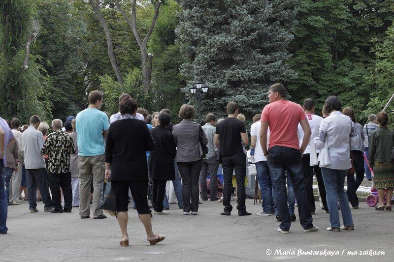 Джаз-оркестр 'Ретро', Саратов, 01 сентября 2013 года