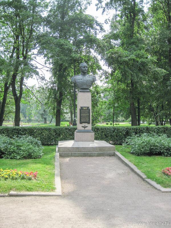 Московский парк Победы. Н.В.Челноков