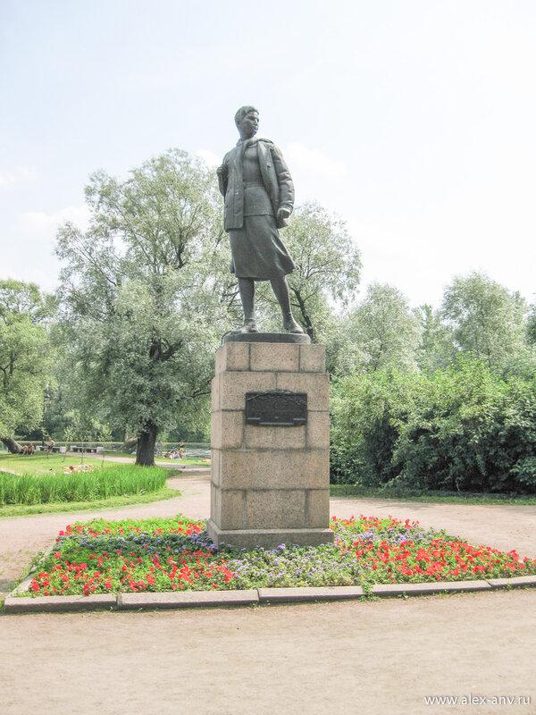 Московский парк Победы. Памятник Зое Космодемьянской