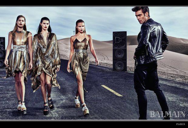 Doutzen Kroes, Isabeli Fontana & Natasha Poly Star in Balmain SS17 Ads (7 pics)