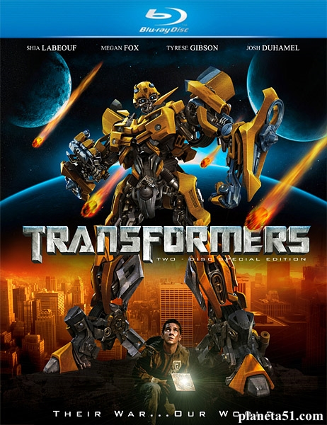 Трансформеры / Transformers (2007/HDRip)