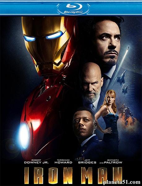 Железный человек / Iron Man (2008/HDRip)