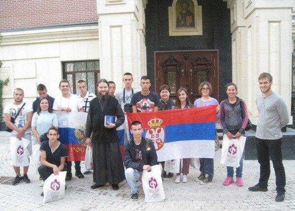 Сербы, Москва, косовские дети, Сретенский монастырь