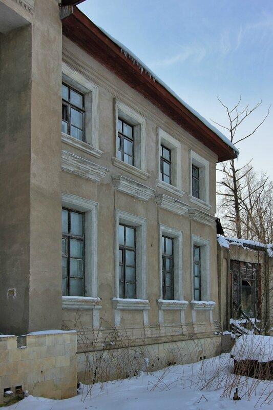 Усадебный дом со стороны парадного двора, Никольское-Обольяниново