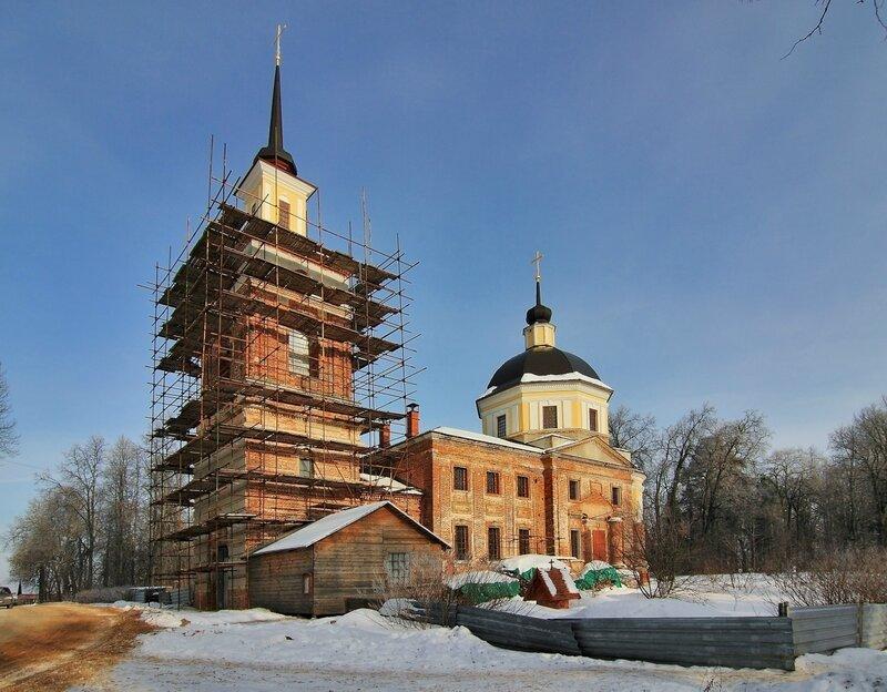 Церковь Николая Чудотворца в Никольском-Обольянинове