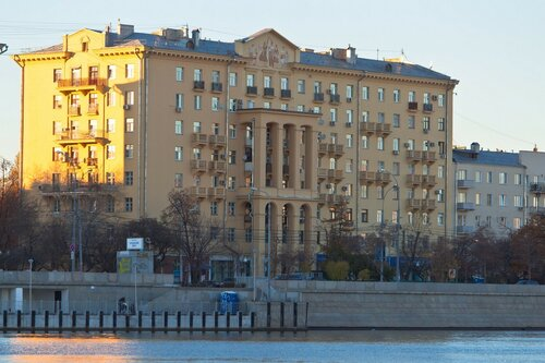 The building of 1939-1943 years, Moscow, Russia